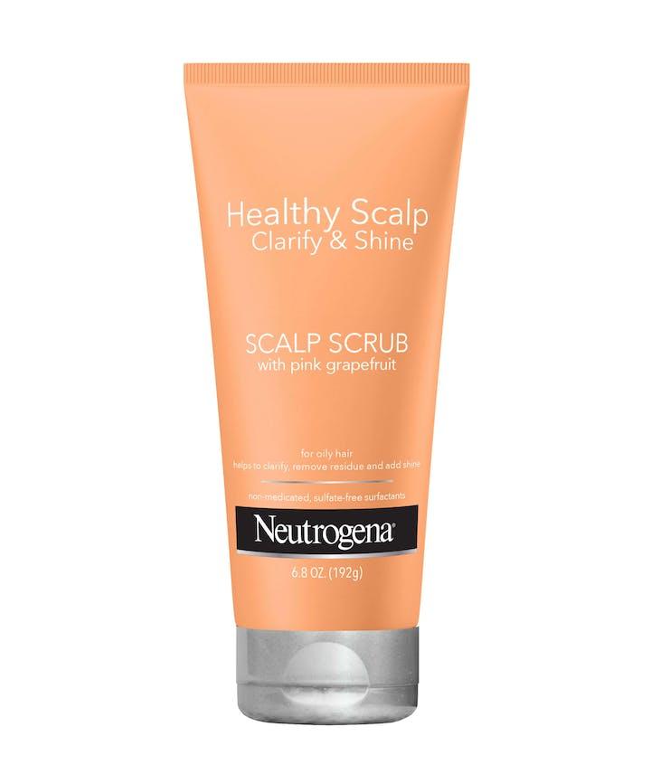Neutrogena Healthy Scalp Clarify and Shine Scalp Scrub with Pink Grapefruit, Hair Mask