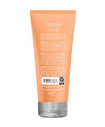 Healthy Scalp Clarify and Shine Scalp Scrub with Pink Grapefruit, Hair Mask