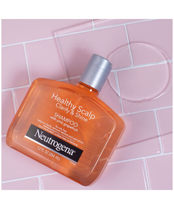 Neutrogena® Healthy Scalp Clarify & Shine Shampoo with Pink Grapefruit