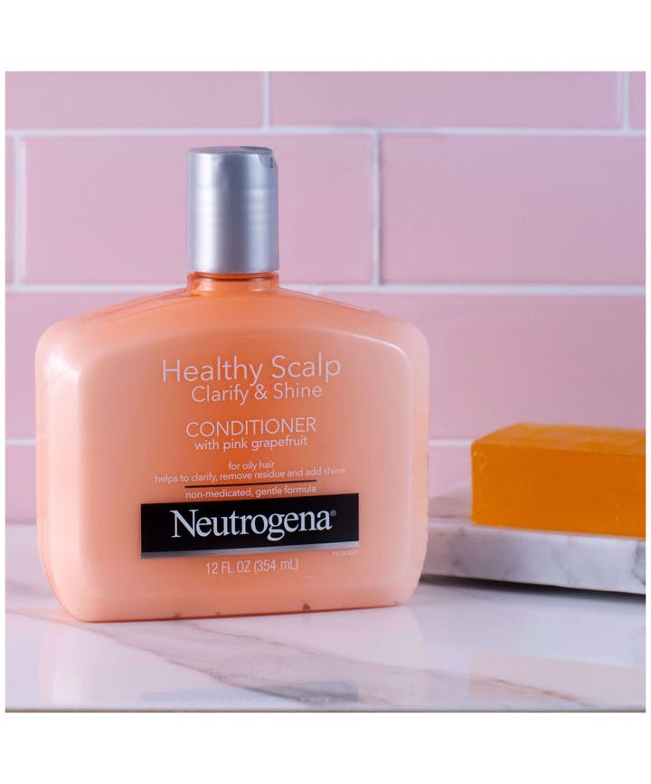 Neutrogena® Healthy Scalp Clarify & Shine Conditioner with Pink Grapefruit