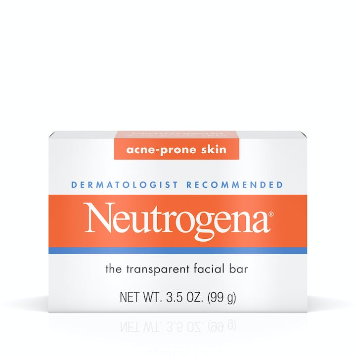 Neutrogena Facial Cleansing Bar for Acne-Prone Skin