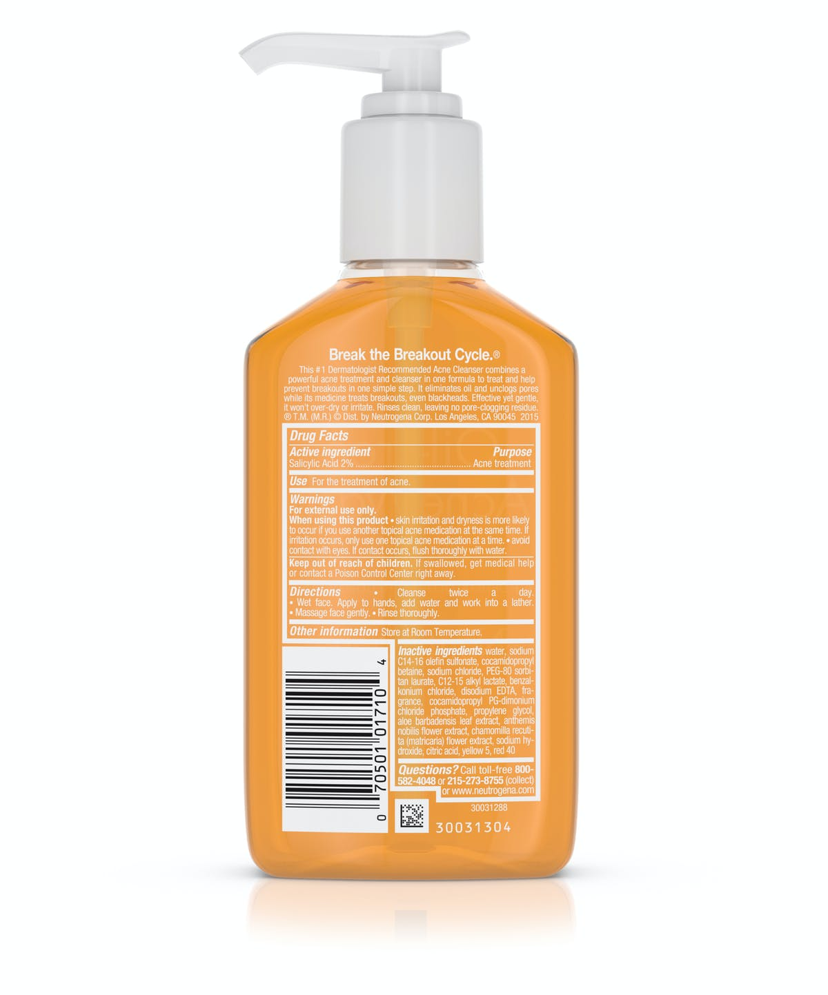 Oil Free Acne Wash Neutrogena