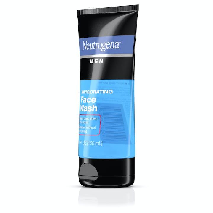 Neutrogena® Men Invigorating Face Wash