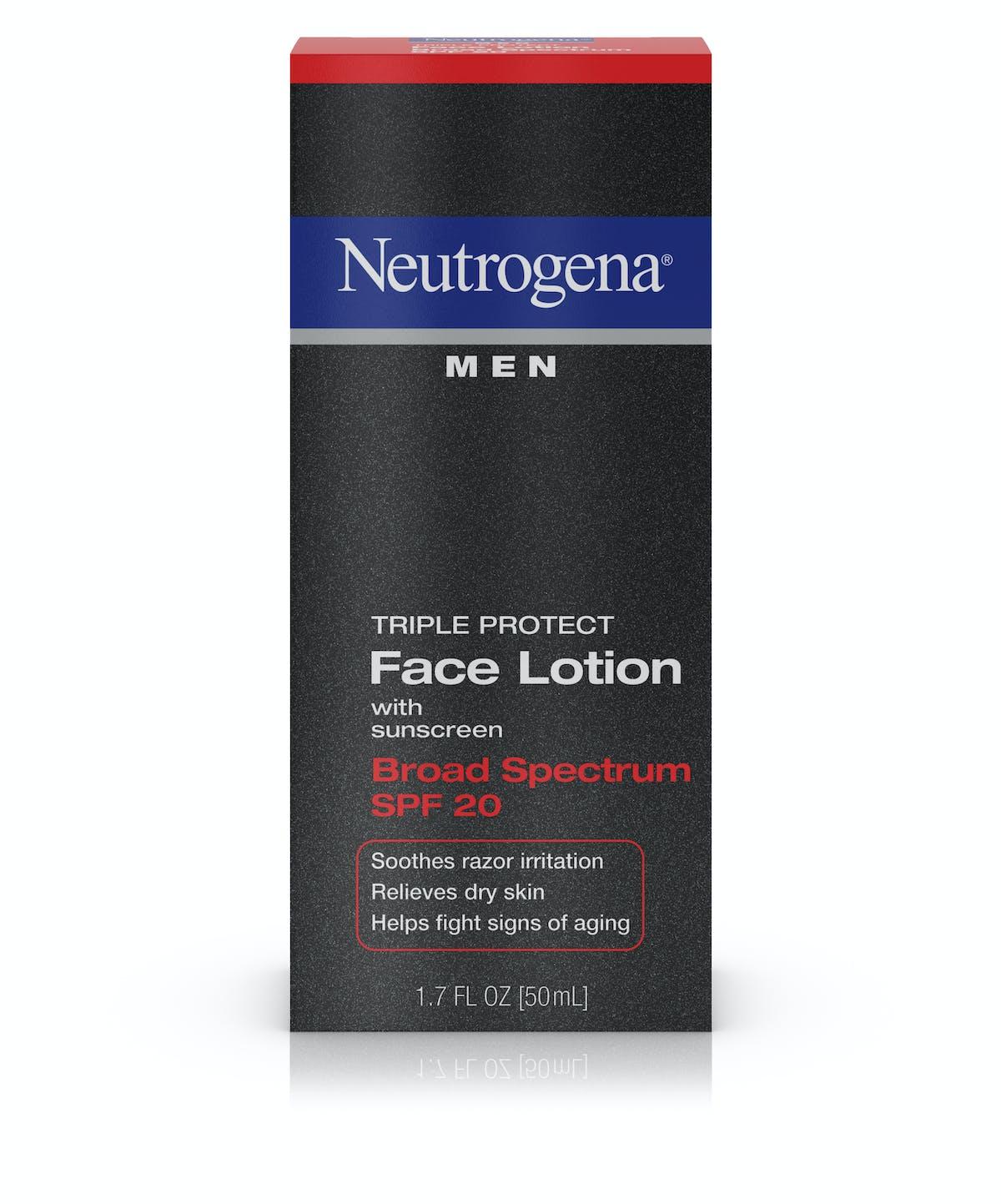 neutrogena face lotion