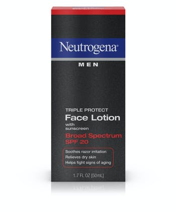 Neutrogena Neutrogena® Men Triple Protect Face Lotion Broad Spectrum SPF 20