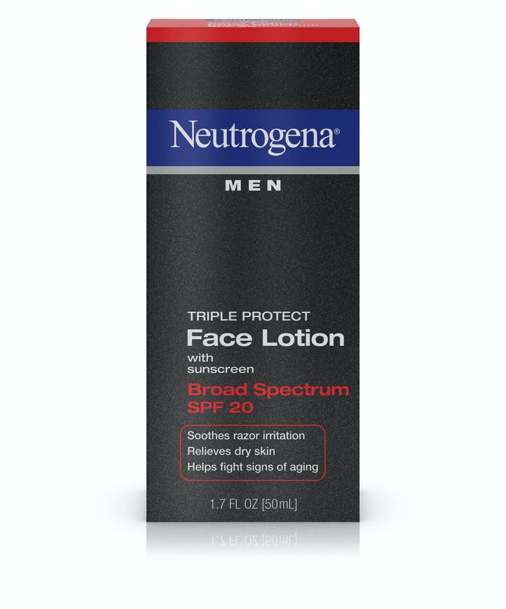 Neutrogena® Men Triple Protect Face Lotion Broad Spectrum SPF 20