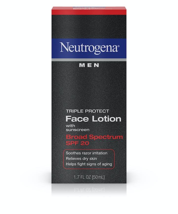 Neutrogena Neutrogena® Men Triple Protect Face Lotion Broad Spectrum SPF 20