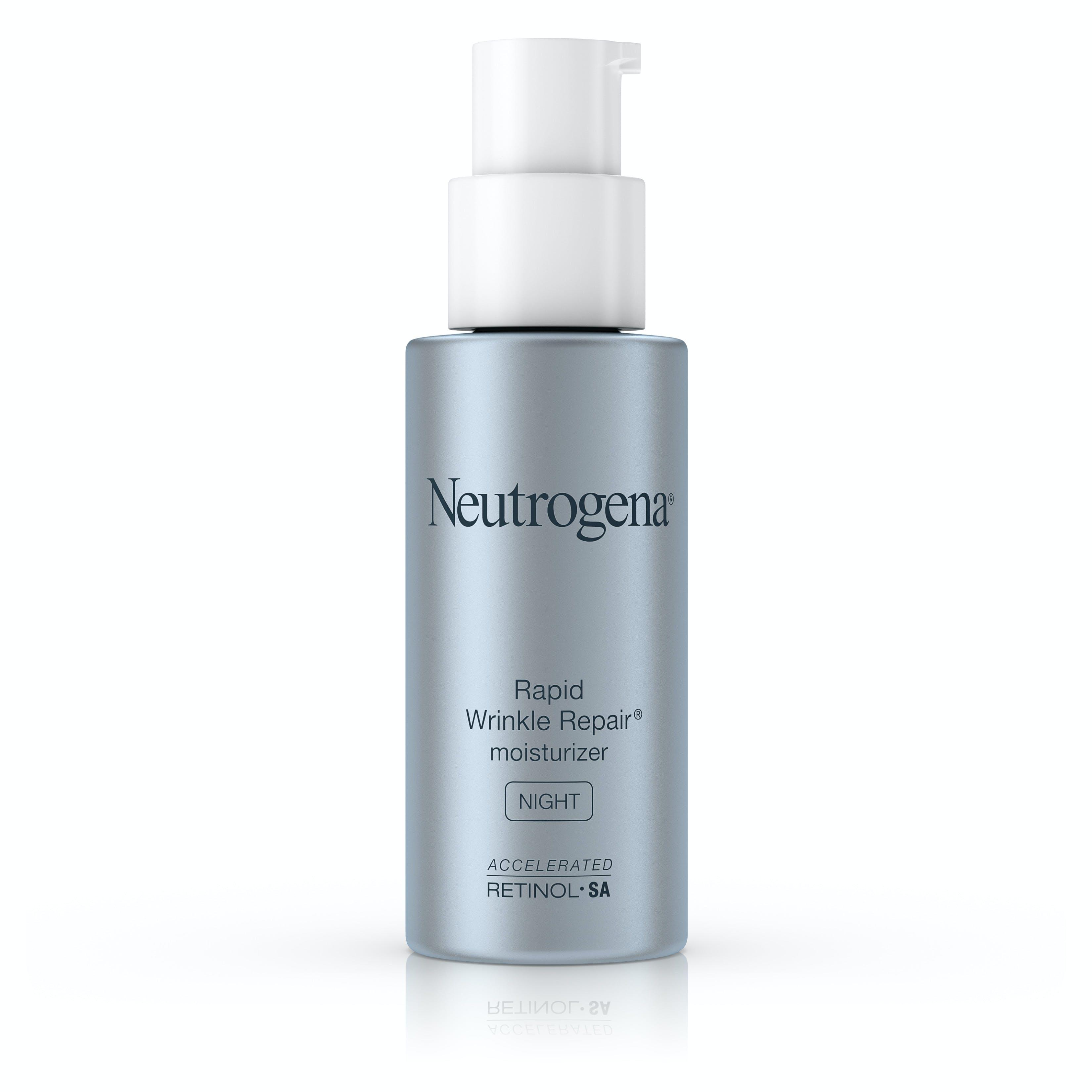 Neutrogena Rapid Wrinkle Repair Night Moisturizer With Retinol