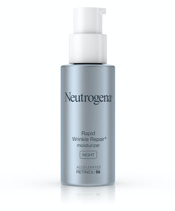 Neutrogena Rapid Wrinkle Repair® Night Face Moisturizer with Retinol, Hyaluronic Acid