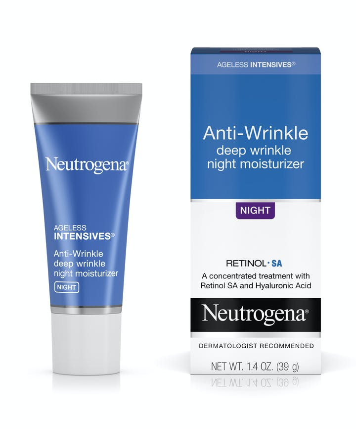 Neutrogena Ageless Intensives® Anti-Wrinkle Deep Wrinkle Night Moisturizer