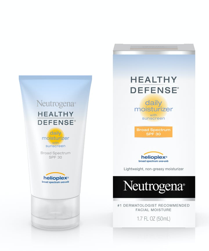 Neutrogena Healthy Defense® Daily Moisturizer with Sunscreen Broad Spectrum SPF 30