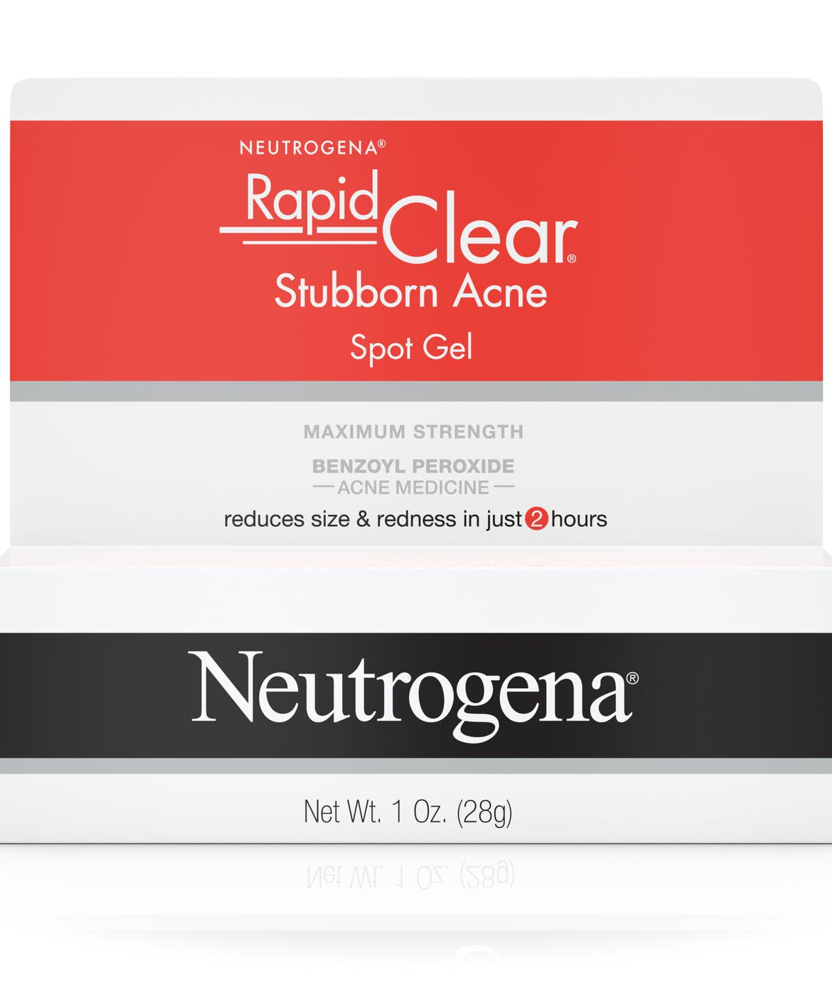 Rapid Clear Acne Treatment With Benzoyl Peroxide Neutrogena