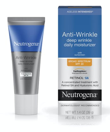 Ageless Intensives® Anti-Wrinkle Deep Wrinkle Daily Moisturizer Broad Spectrum SPF 20