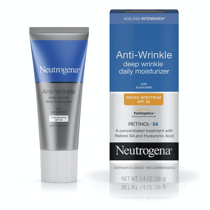 Neutrogena Ageless Intensives® Anti-Wrinkle Deep Wrinkle Daily Moisturizer Broad Spectrum SPF 20