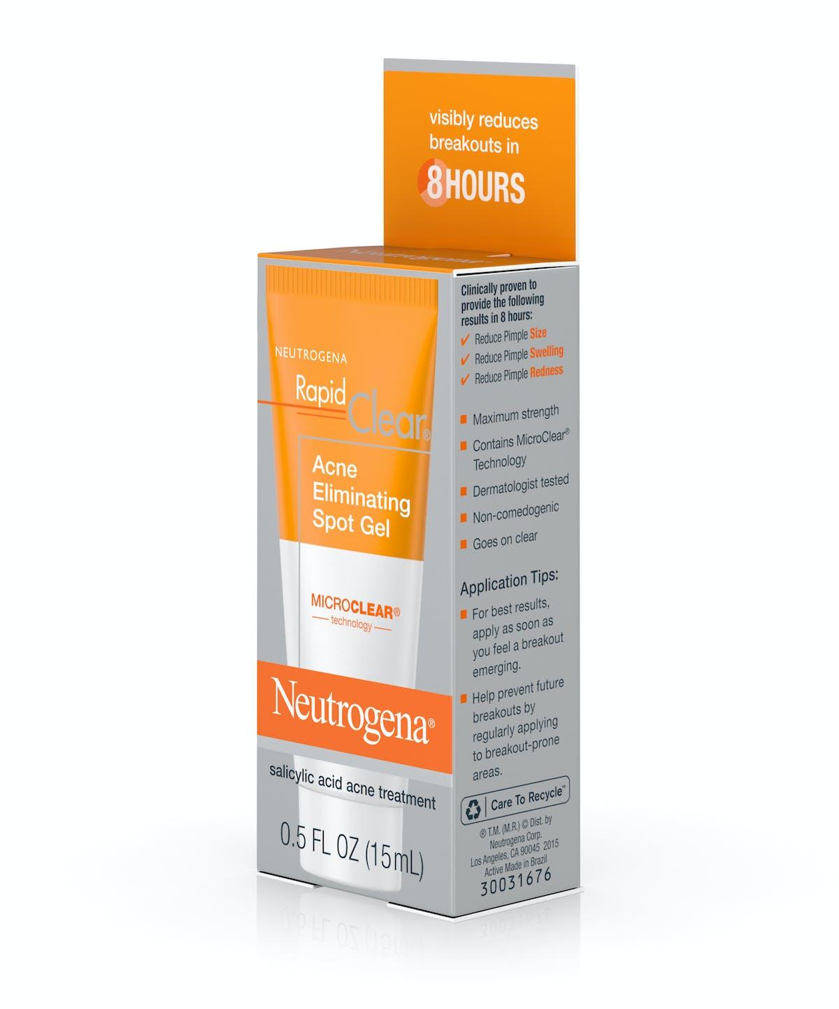 Rapid Clear Salicylic Acid Acne Treatment with Witch Hazel