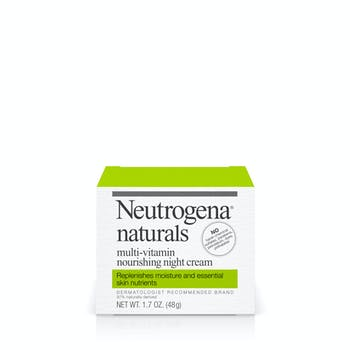 Neutrogena® Naturals Multi-Vitamin Nourishing Night Cream