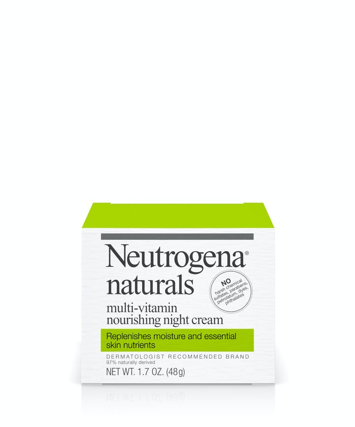 Neutrogena Neutrogena® Naturals Multi-Vitamin Nourishing Night Cream