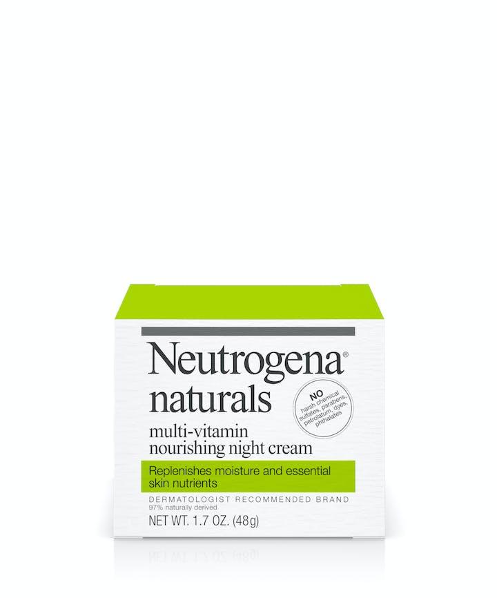 Neutrogena Neutrogena® Naturals Multi-Vitamin Nourishing Night Cream