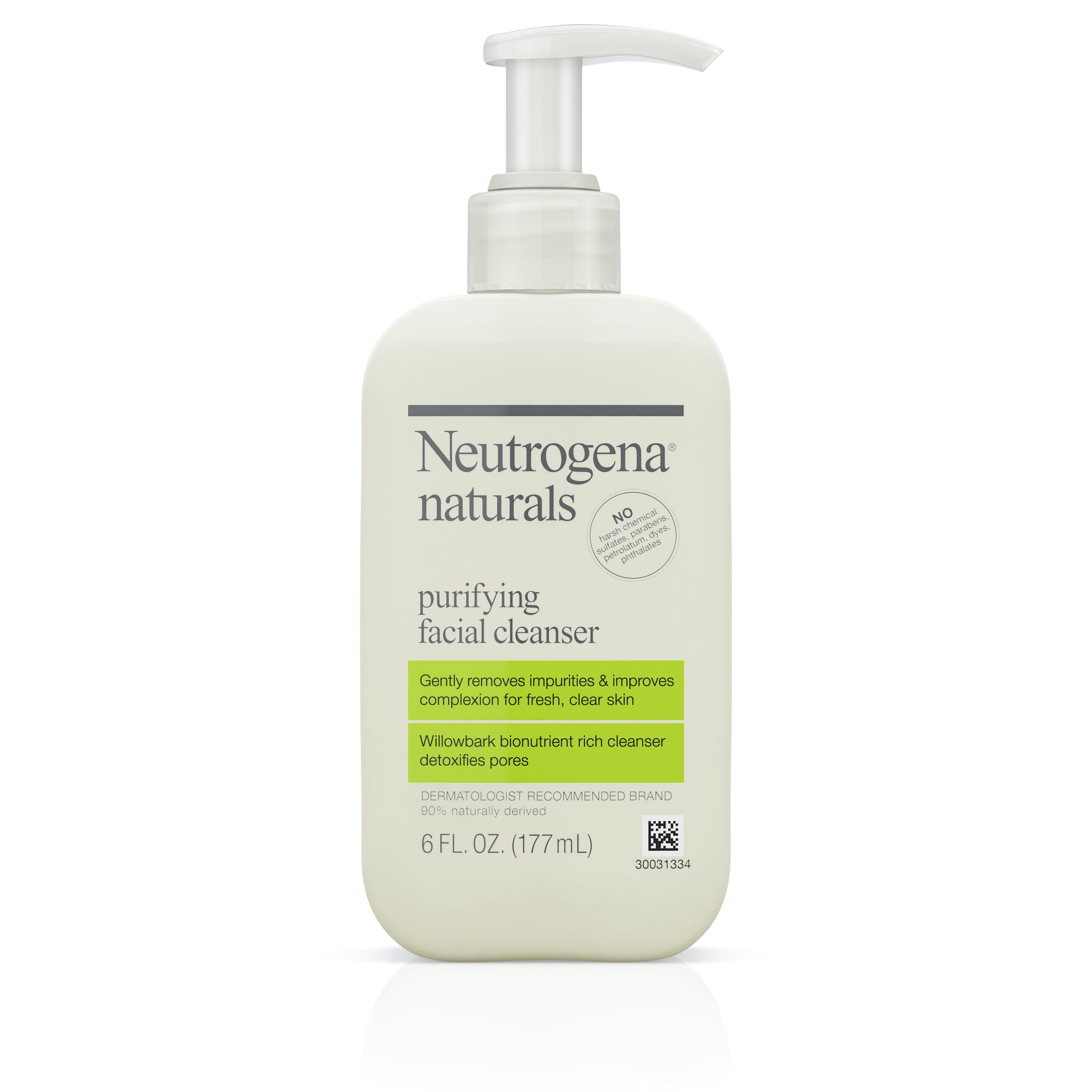 neutrogena gel wash