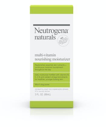Neutrogena® Naturals Multi-Vitamin Nourishing Moisturizer