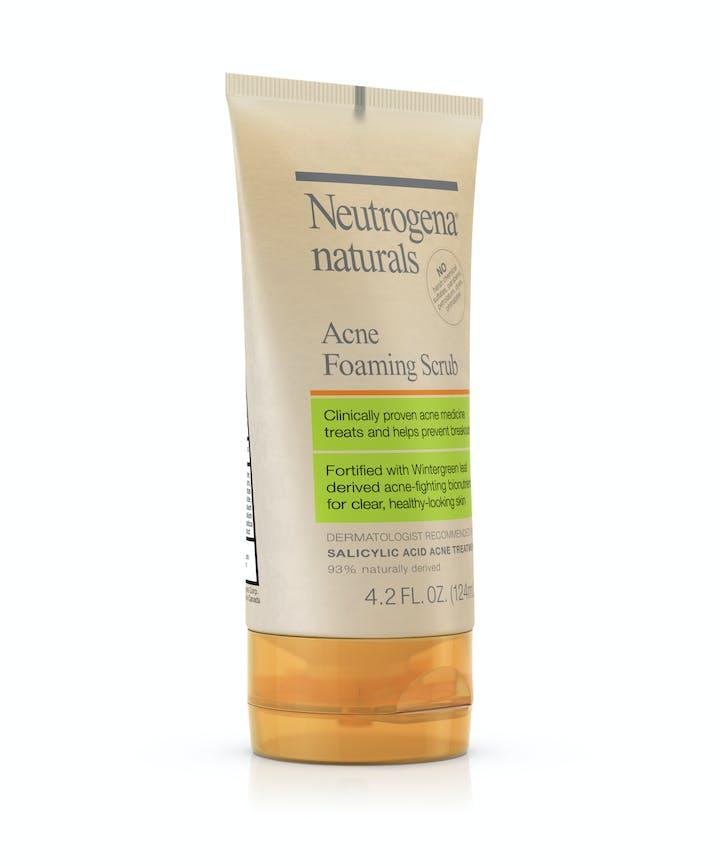 Neutrogena® Naturals Acne Foaming Scrub