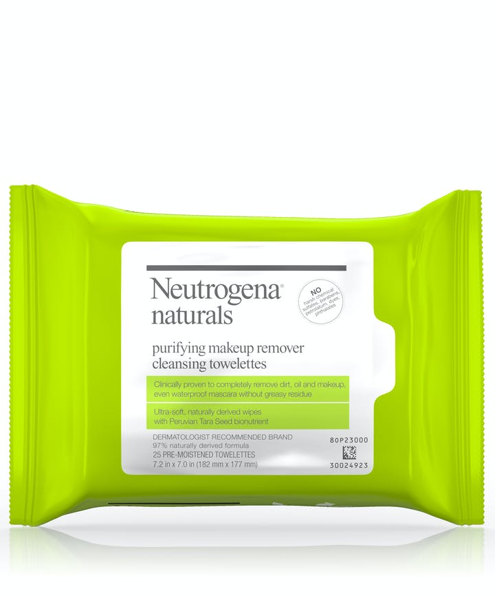 Neutrogena Neutrogena® Naturals Purifying Makeup Remover Cleansing Towelettes