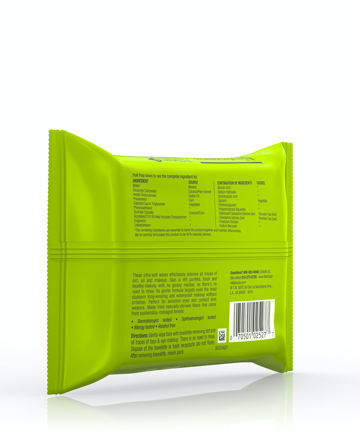 Naturals Purifying Makeup Remover Cleansing Towelettes by Neutrogena #8