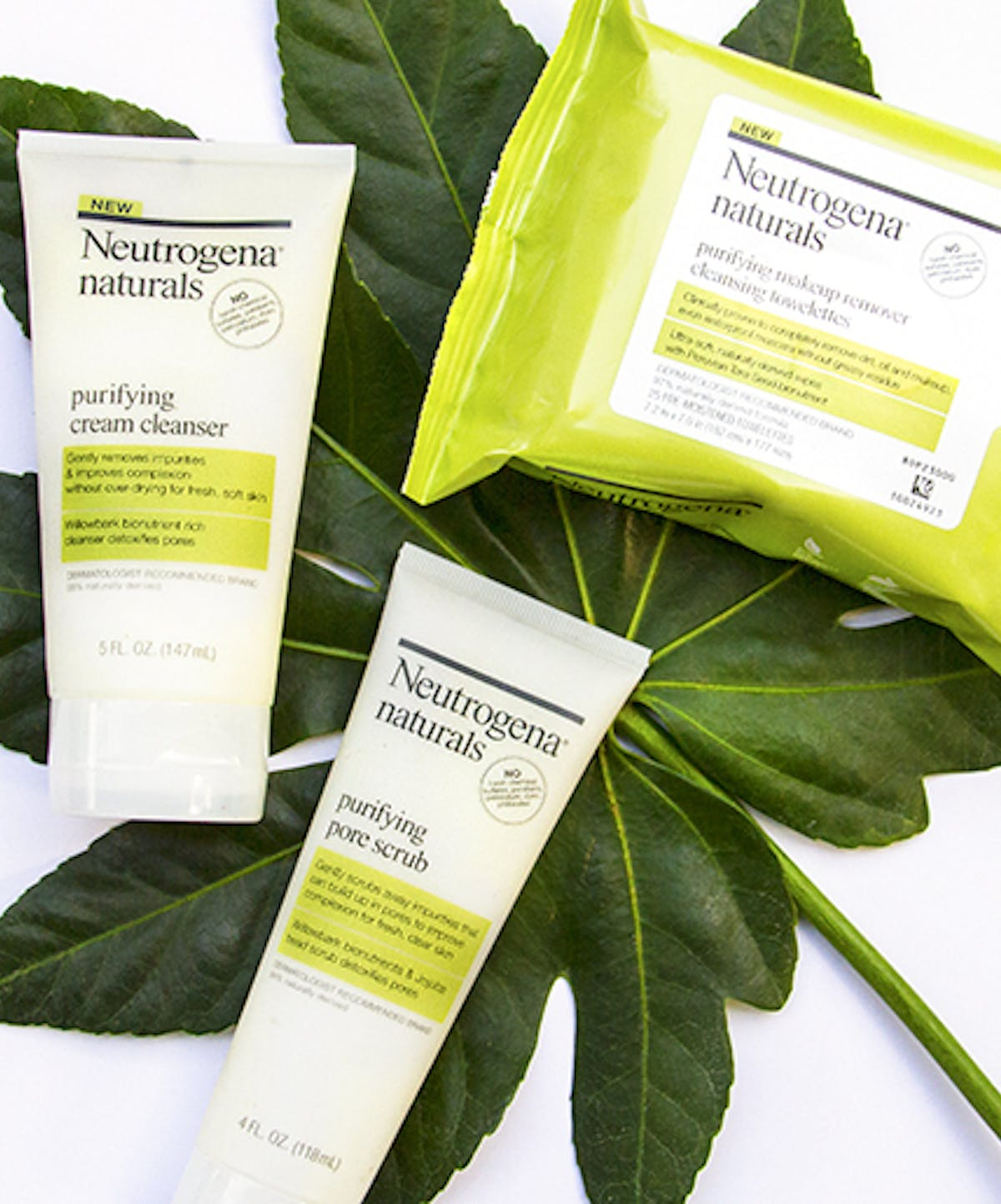Naturals Purifying Makeup Remover Cleansing Towelettes Neutrogena