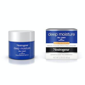 Deep Moisture Day Cream with Sunscreen Broad Spectrum SPF 20