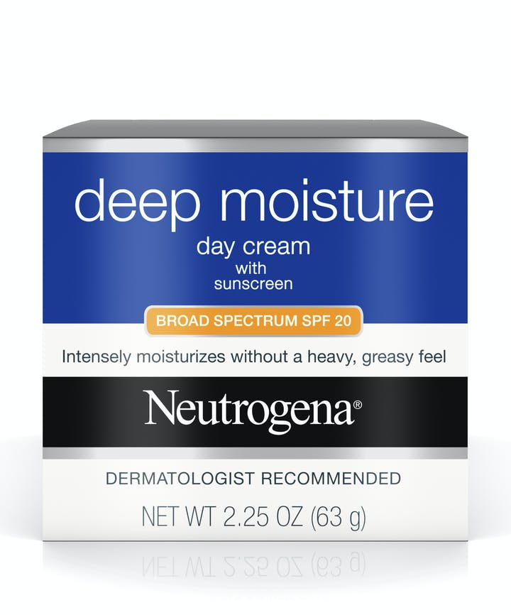 Deep Moisture Day Cream with Sunscreen Broad Spectrum SPF 20