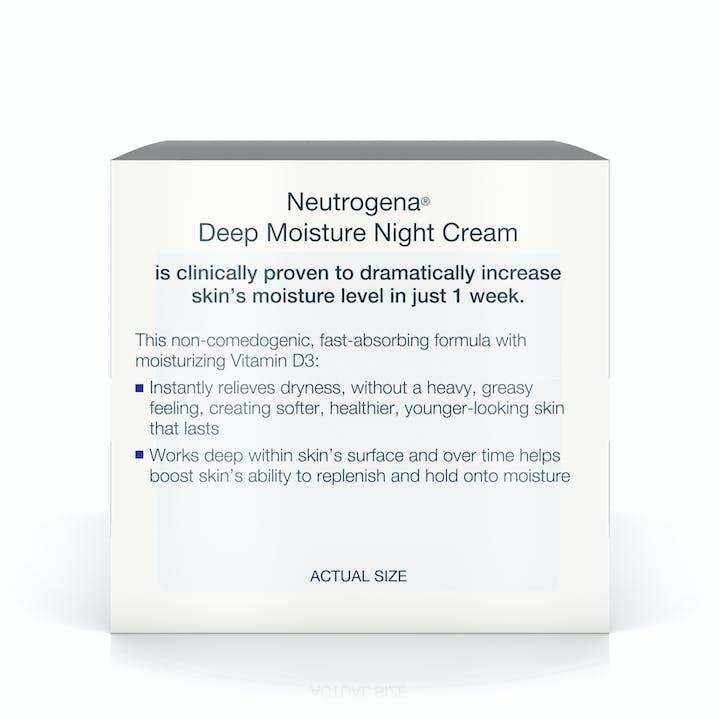 Deep Moisture Night Cream