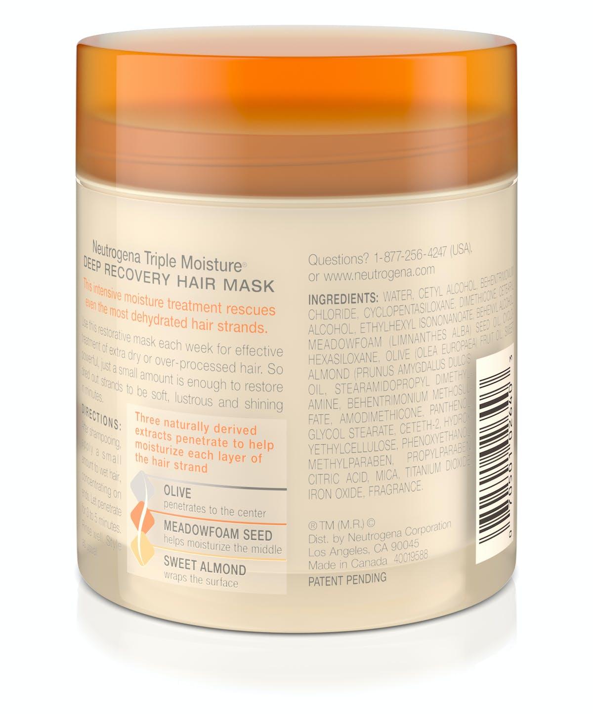 1df272f5a574f4 Neutrogena Triple Moisture® Deep Recovery Hair Mask| Neutrogena®