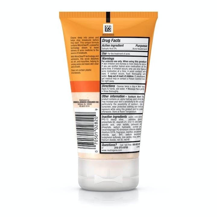 Oil-Free Acne Wash Daily Scrub