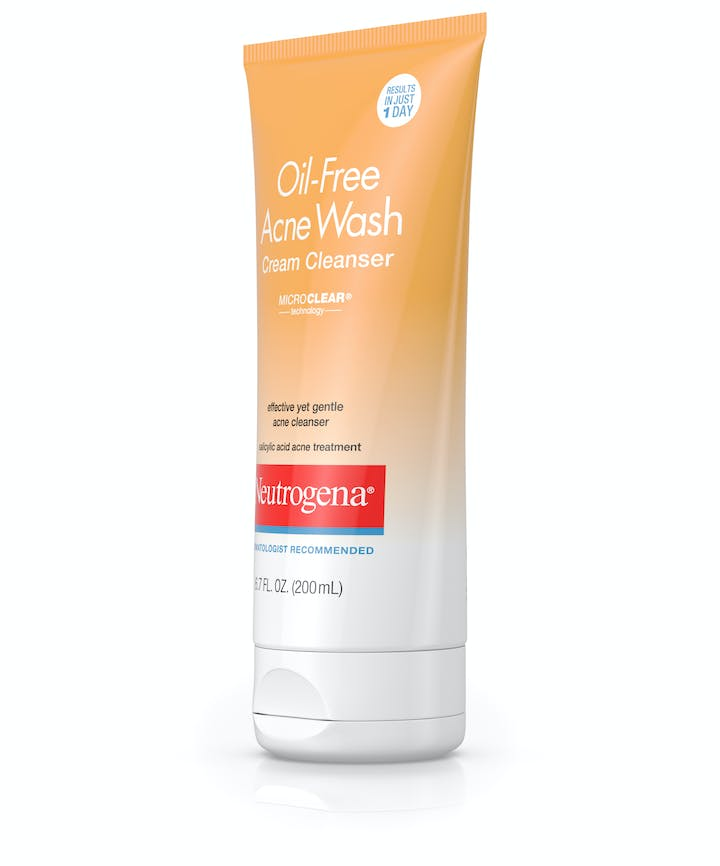Oil-Free Acne Wash Cream Cleanser