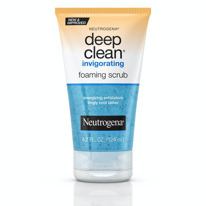 Neutrogena Deep Clean® Invigorating Foaming Scrub