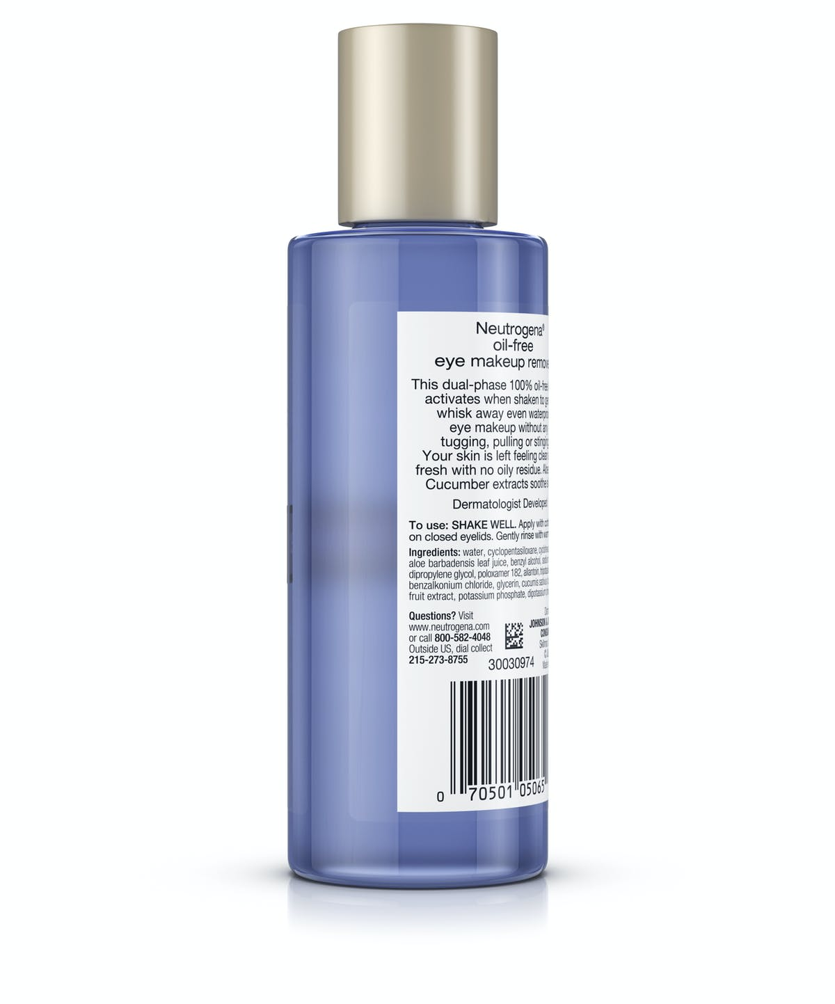 dac511381f7 ... Gentle Oil-Free Liquid Eye Makeup Remover for Waterproof Mascara ...