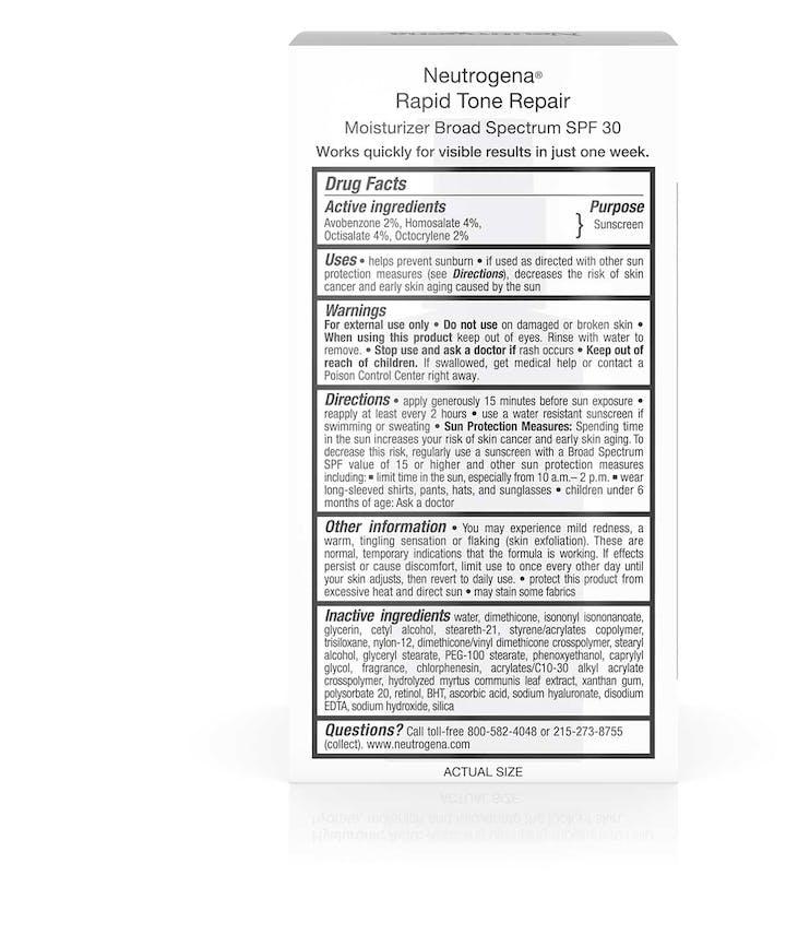 Rapid Tone Repair Moisturizer Broad Spectrum SPF 30