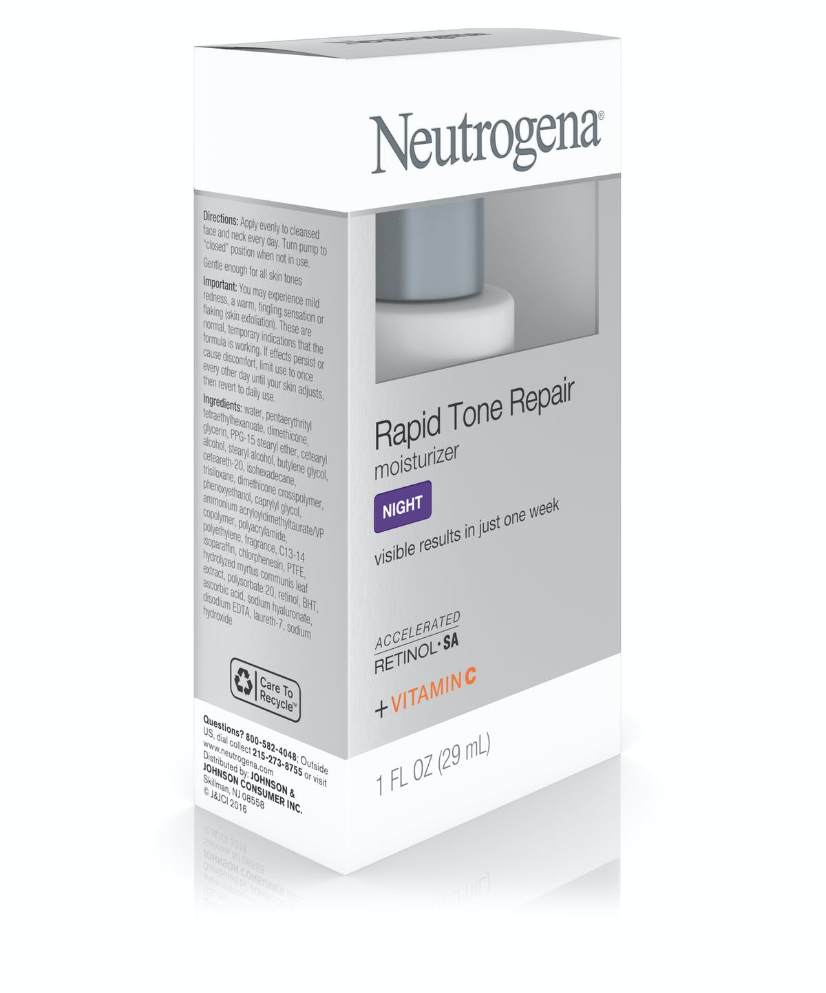 Rapid Tone Repair Night Moisturizer