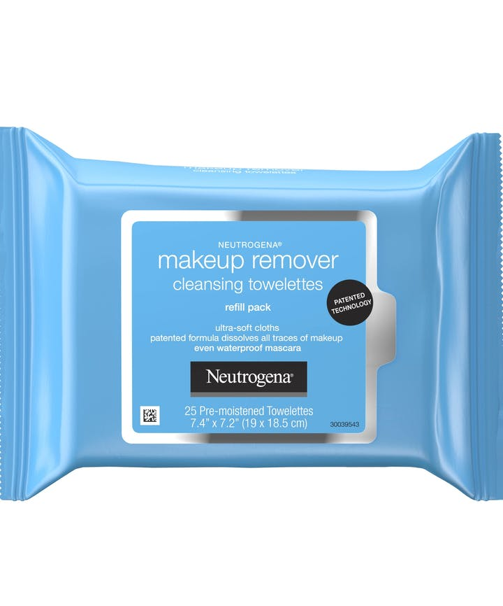 Neutrogena Ultra-Soft Makeup Remover Wipes for Waterproof Makeup