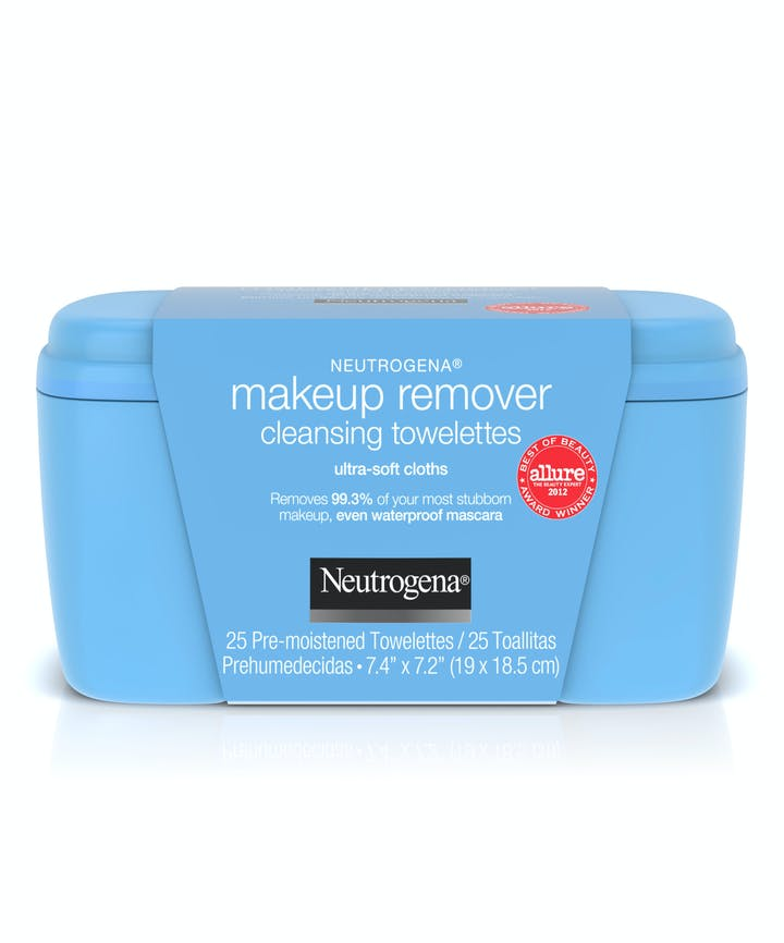 Ultra-Soft Makeup Remover Wipes for Waterproof Makeup de Neutrogena