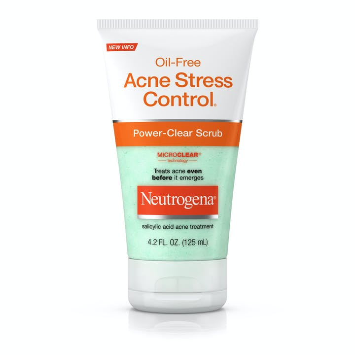 Neutrogena Oil-Free Acne Stress Control® Power-Clear Scrub