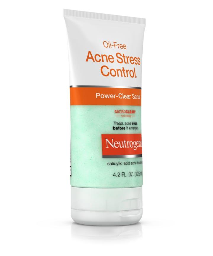 Oil-Free Acne Stress Control® Power-Clear Scrub