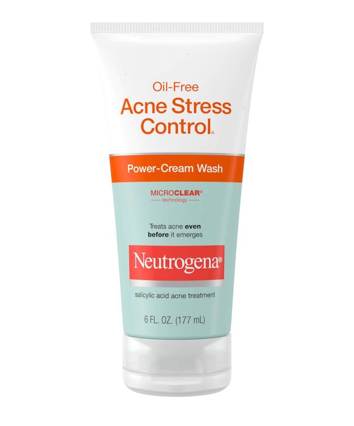 Neutrogena Oil-Free Acne Stress Control® Power-Cream Wash