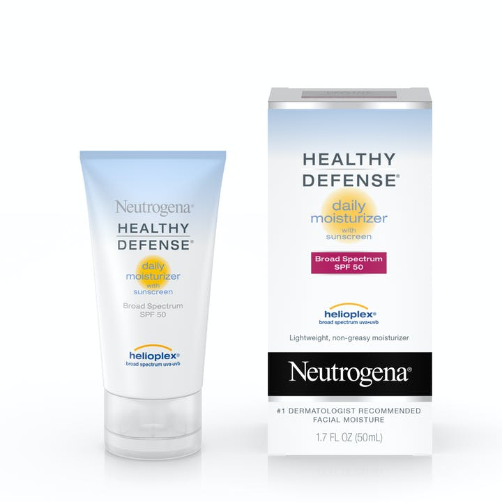 Healthy Defense® Daily Moisturizer with Sunscreen Broad Spectrum SPF 50