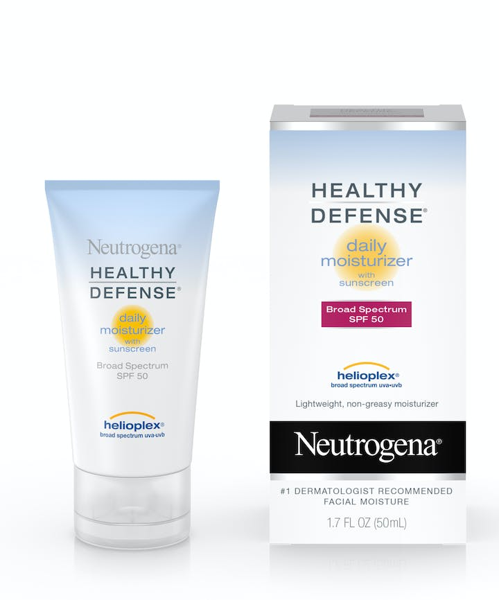 Neutrogena Healthy Defense® Daily Moisturizer with Sunscreen Broad Spectrum SPF 50