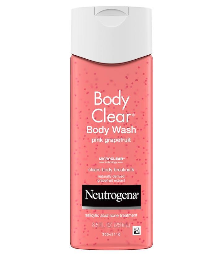Neutrogena Body Clear® Pink Grapefruit Salicylic Acid Acne Treatment Body Wash