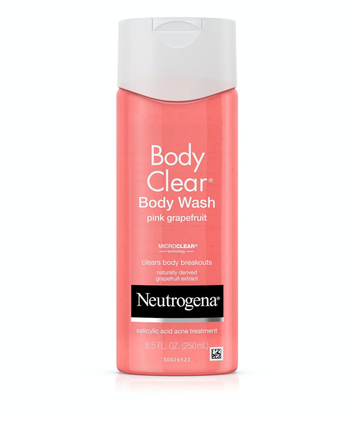 Pink Grapefruit Body Wash Formulated With Salicylic Acid Neutrogena