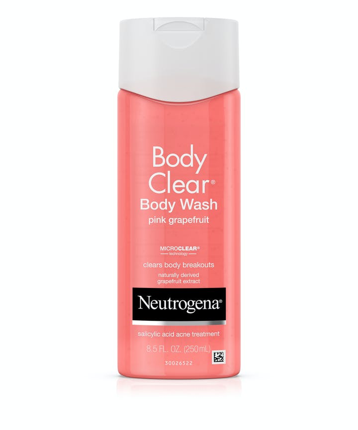 Neutrogena Body Clear® Pink Grapefruit Salicylic Acid Acne Treatment Body Wash