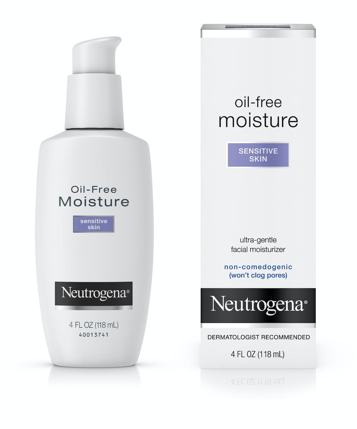 Oil Free Face Moisturizer For Sensitive Skin Neutrogena 174