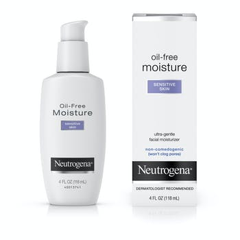 Neutrogena® Oil-Free Face Moisturizer for Sensitive Skin, Fragrance-Free, Non-Comedogenic
